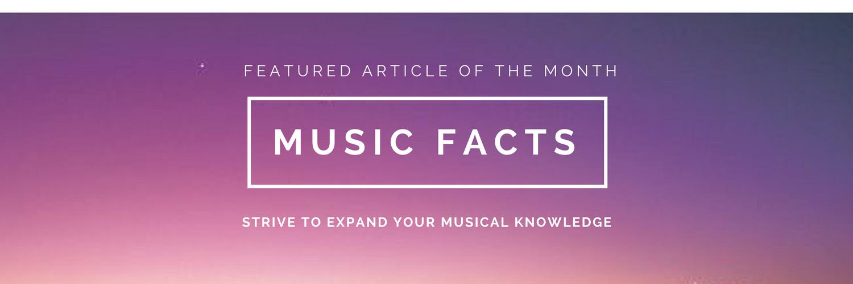 Modern Music Studio Colorado Fun Music Facts